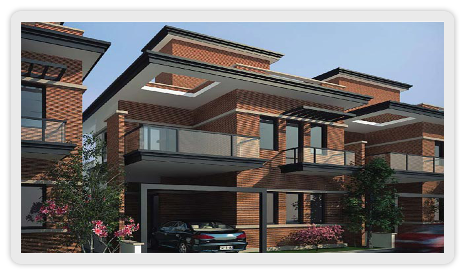 frontview,skylitconstruction,villas in sarjapur